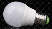 Светодиодная лампочка LEDEX 6W E27 3000K PREMIUM G45 (ШАРИК)